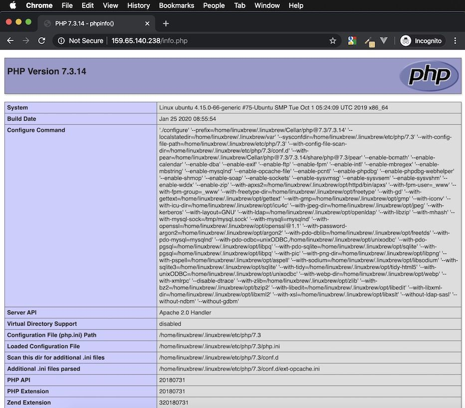 cara install homebrew php